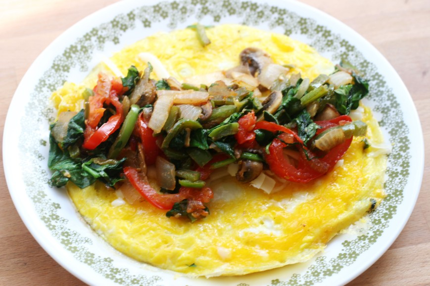 simple omelet ll workhardstayhappy.com